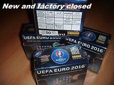 Panini Adrenalyn XL EURO 2016 Full box - 50 x Booster sealed box 50 packs