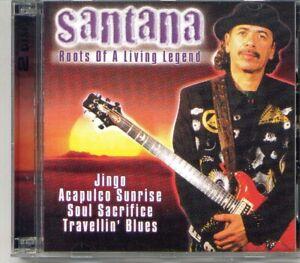 SANTANA - Roots of a living legend - 2 - CD Album - Neu/OVP