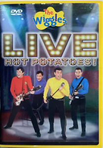 The Wiggles - Live Hot Potatoes! (DVD 2004) 140 Minutes VERY GOOD! FREE SHIPPING
