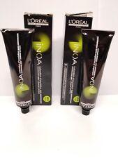 LOreal Inoa Hair Color 6,64 Dark Red Copper No Ammonia 2oz 60g Lot of 2 Sealed