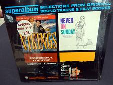 Soundtrack LP SUPERALBUM The Vikings NEVER ON SUNDAY I Want To Live +  Shrink M-