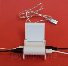 Mini USB HUB 4 puertos USB 2.0 Plug & Play recargar y transmisión de datos