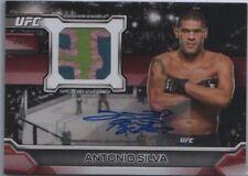 ANTONIO SILVA 2016 Topps UFC Knockout Relic / Auto RUBY 2/8