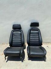 Original Recaro vintage Sport Seats Porsche & BMW