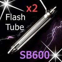 NEW 2x Pcs Nikon SB600 Flash Tube Xenon Lamp Bulb Repair Speedlite SpeedLight