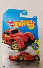 Hot Wheels 2017 56/365 Speed Graphics Red Volkswagen Kafer Racer