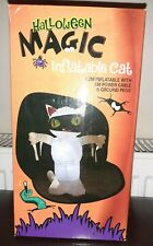 More details for halloween inflatable mummy cat with lights 1.2 metres new in box