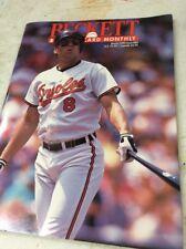 Beckett Baseball Magazine Monthly Price Guide March 1992 Cal Ripken Jr