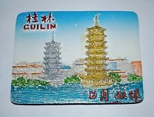 Twin Tower China Guilin Magnet