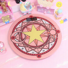 Cute Cartoon Sailor Moon Magic Circle Body Weight Scale 400lb LCD Display Gift
