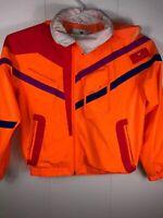 Vintage Sport Obermeyer Ski Jacket Mens L multicolour neon