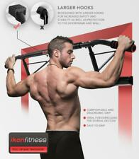 Ikonfitness Pull Up Bar Max Chin Up Multiple Workouts Fitness w/ Ergonomic Grip