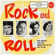 Elvis Presley -3-20153 LLEGO EL ROCK & ROLL - SPAIN Re EP - M/M - Rare!