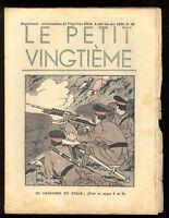 TINTIN    LE PETIT VINGTIÈME n°39 du 1er octobre 1936   L'OREILLE CASSÉE  HERGÉ