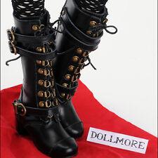 [Dollmore] 1/3BJD OOAK BOOTS Model Woman Shoes - Macy Boots (Black)