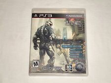 Crysis 2 -- Limited Edition (Sony PlayStation 3, 2011) *COMPLETE*
