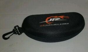 Dale Earnhardt Jr. JR NATION CREW Black Eyeglass Sunglass Zipper Case #88 NASCAR