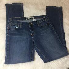 Gap  Skinny Stretch Jeans Medium Dark Wash Size 8 Distressed