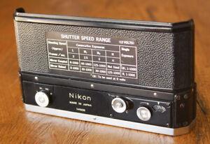 Nikon F36 Motor Drive Winder for F-36 - working circa 1970 / 1971