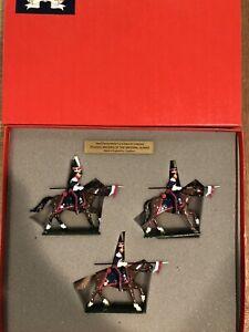 Tradition:  Boxed Set 702 - Polish Lancers, c1812. 54mm Metal Models