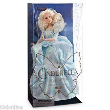 Authentic Disney Cinderella Fairy Godmother Doll Disney Movie Film Collection