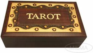 TAROT Box Wooden Keepsake Elegant Design Tarot Card Holder Made in  Poland