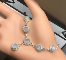 Gorgeous Moonstone 925 Sterling Silver Gemstone Necklace Pendant Gift Bag Boxed