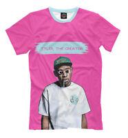 b81f8e633446 Tyler Gregory Okonm t-shirt - Tyler the Creator American rapper Odd Future  print