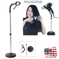 Portable Stand Up Hair Dryer & Styling Hands Free Hair Dryer Holder Adjustable