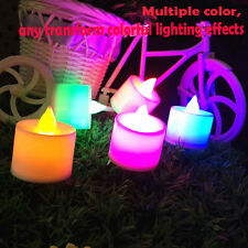 Romantic Blow On / Off Flameless LED Electronic Candle Night light Shake Sensor