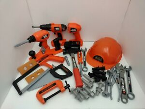 Black & Decker Kids Tool Set for 3+ Years Old - 30+ Pieces Mixed Lot