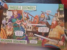 Horrible Histories Vicious Vikings 250 Piece Jigsaw Puzzle Paul Lamond Games