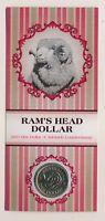 Australia: 2011 $1 Ram's head issue (Adelaide ANDA show), issue price $15