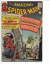 AMAZING SPIDER-MAN 18 - VG 4.0 - 3RD APPEARANCE OF SANDMAN - AVENGERS (1964)
