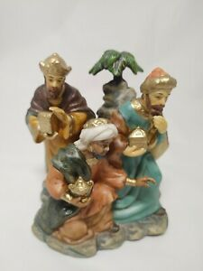 Avon 2002 Holiday Treasures Blessed Visitors Kings