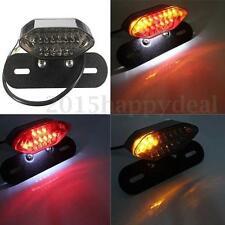 MOTORCYCLE MOTORBIKE 20 LED REAR TAIL BRAKE INDICATOR LIGHT NUMBER PLATE LAMP UK