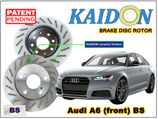 "AUDI A6 disc rotor KAIDON (front) type ""BS"" spec"
