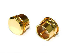 XLR male Noise Reducing Caps - PTFE (Teflon) Insulation - Gold Plated - 2 pack