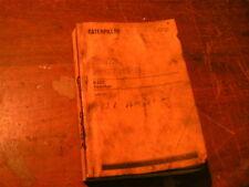 633c Caterpillar  parts book for 633c tractor  scraper  parts catalog used
