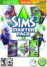 The Sims 3 Starter Pack (PC, 2013) DISC IS MNT