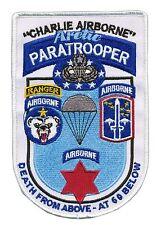 Charlie Airborne - Arctic Paratrooper - Alaska Airborne - US Ranger - Infantry