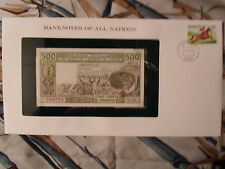 Banknotes of All Nations West African States Togo 1985 500 Francs P806Th UNC S14