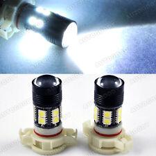 High Power White LED Fog Light Bulbs CREE w/ 10-SMD DRL lamp 5202 5201 H16