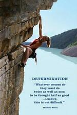 Motivational : Determination - Maxi Poster 61cmx91.5cm (new & sealed)