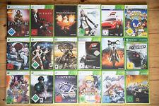 XBox 360 Spielesammlung, 18 Titel