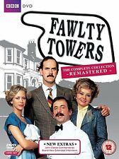 FAWLTY TOWERS -  REMASTERED COMPLETE SERIES BRAND NEW DVD BOXSET R4