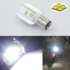 1pc 28W BA20D CREE LED White Motorbike Motorcycle Headlight Car Bulb Lamp H6 395