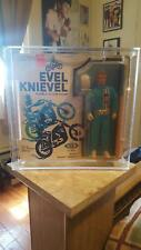EVIEL KNIEVILCARDED FIGURE BY MATTEL THIS SALE IS FOR ACRYLIC CASES ONLY NO TOYS