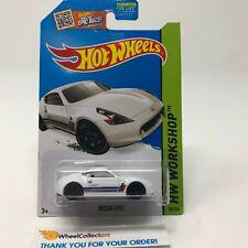 Nissan 370Z #248 * White * 2015 Hot Wheels * G27