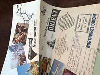 VTG 60's Tour Brochure Northwest Orient Historical Souvenirs Travel Memorabilia